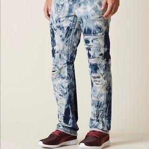 Rock Revival Straight Tie-Dye Jeans J221 Lowry